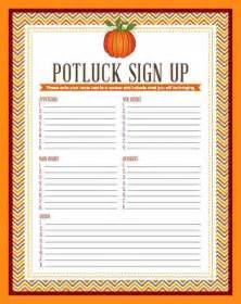 8 Sign Up Sheet For Potluck Actor Resumed