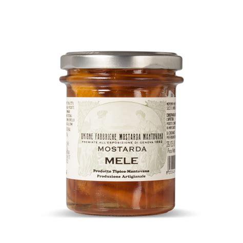 mostarda di mele cotogne mantovana unione fabbriche mostarda mantovana unione fabbriche