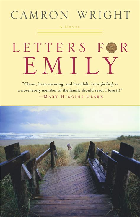 letters for emily book by camron wright official