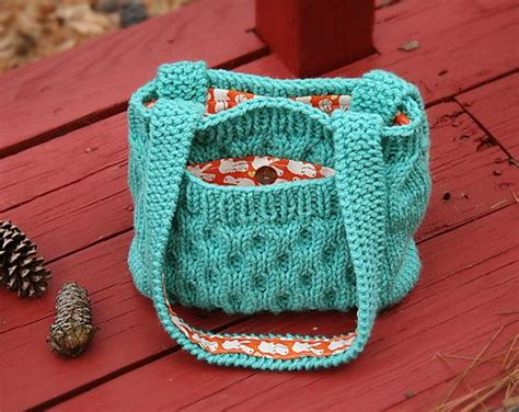 free knitted tote bag patterns bag purse and tote free knitting patterns in the loop