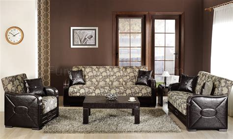 two tone living room melani mustard two tone living room sleeper sofa w storage