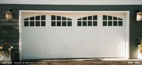 Ranch Style Garage Doors by Ranch House Doors Product Overview