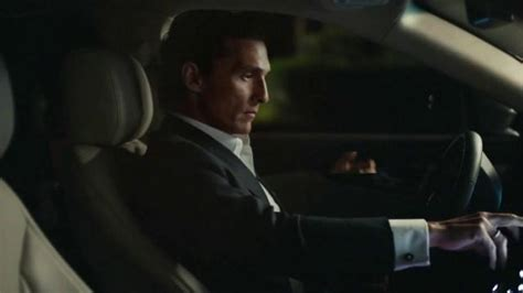 lincoln matthew mcconaughey test drive a connected car and here s what you ll learn
