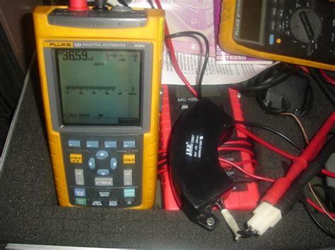 how to check capacitor with fluke 87 testing capacitors with fluke 87 28 images pic16f88 voltmeter vs fluke 87v multimeter doovi