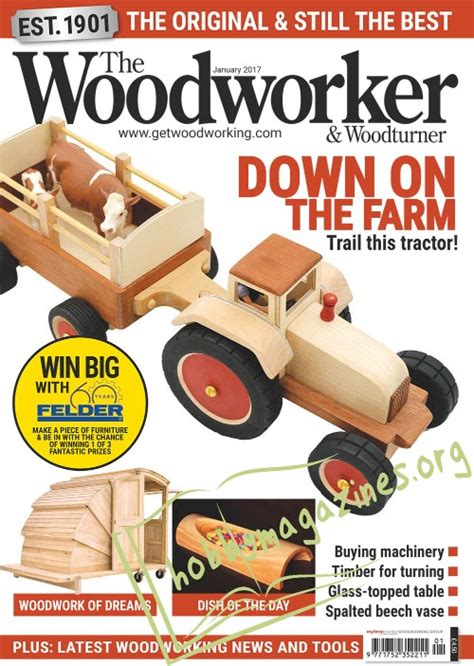 the woodworker woodturner magazine the woodworker and woodturner january 2017 187 hobby
