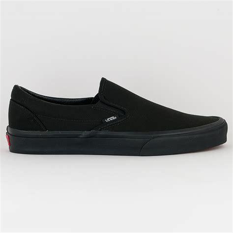 vans slip on shoe black black at skate pharm