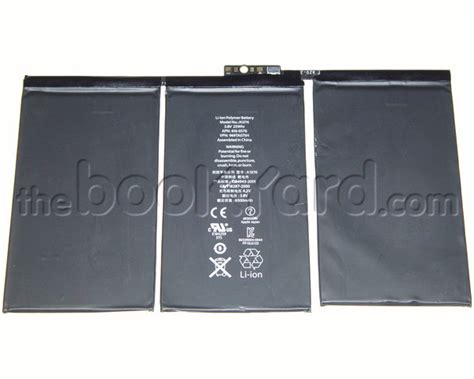 Battery A1376 Ipad2 Original apple original compatable replacement batteries the bookyard