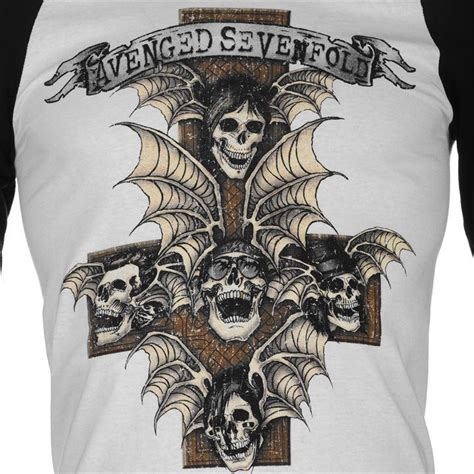 Avenged Sevenfold Print Colour Choice T Shirt Size M avenged sevenfold band t shirt avenged sevenfold s s t shirts