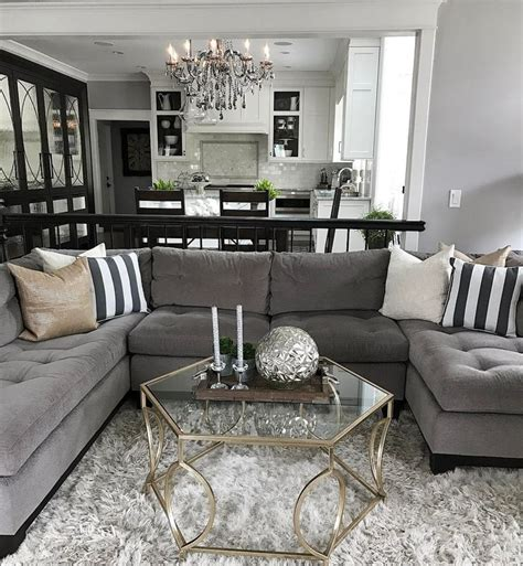 Grey Sofa Living Room Decor Best 25 Gray Decor Ideas On Pinterest Living Room Decor Grey Sofa Neutral Living Room