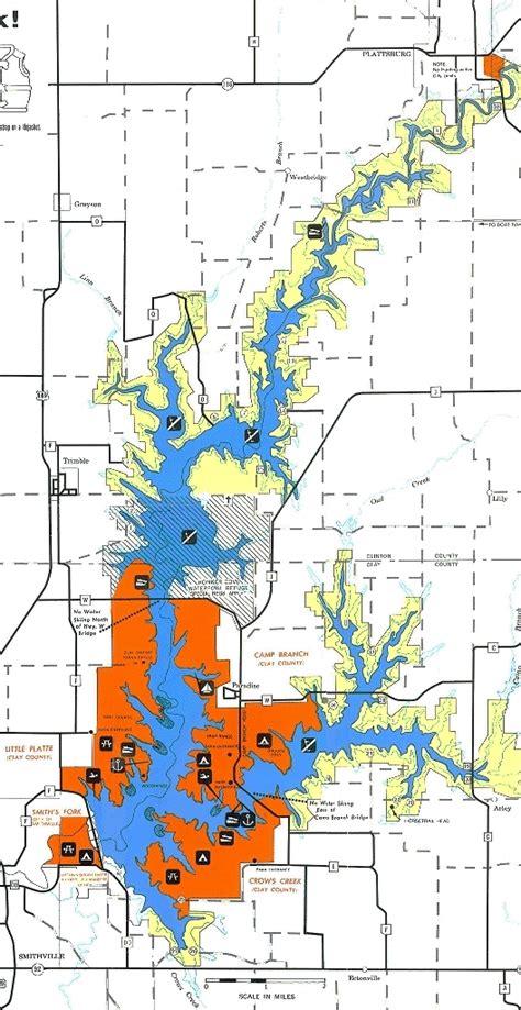 smithville lake map midwestsailing