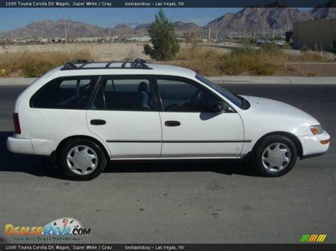 1996 Toyota Corolla Dx 1996 Toyota Corolla Dx Wagon White Gray Photo 11