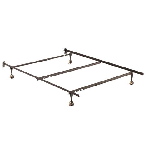Twin Full Queen Size 4 Leg Metal Bed From Beyond Furniture Bed Frame Wheels