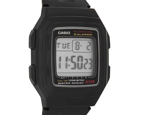 Led Watches Aa W001 Limited casio s 34mm f201wa 1a digital black great daily deals at australia s favourite