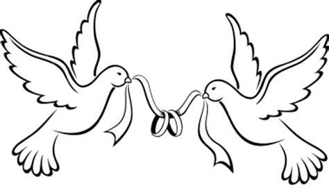 Birds Wedding Clipart by Birds Wedding Bands Free Images At Clker