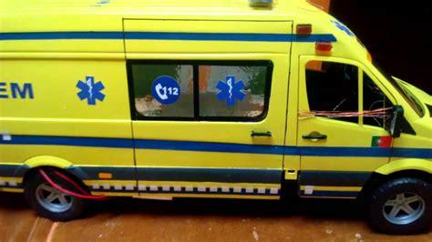 bruder toys mercedes ambulance mercedes sprinter bruder youtube