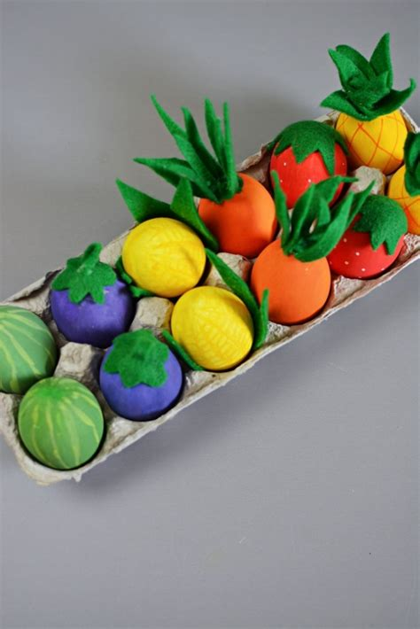 vegetable crafts for vegetable easter eggs family crafts