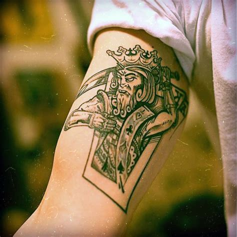 graphic tattoos king card www pixshark images galleries
