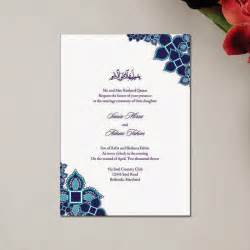 unique wedding invitations muslim wedding invitations