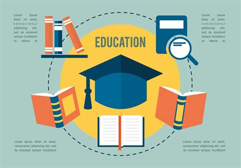 free software education free flat education vector collection download free