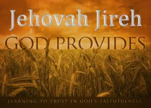 Words of wisdom jehovah jireh