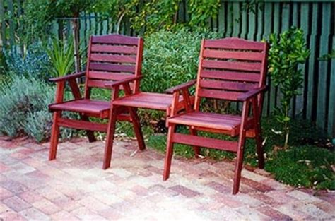 elmsfield quot jack n jill quot timber outdoor furniture perth