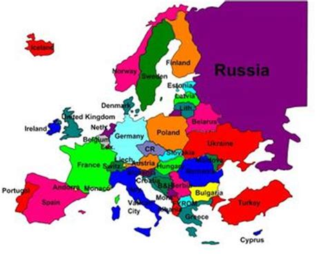 a labeled map of europe labeled europe map thefreebiedepot
