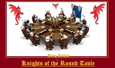 Lego Ideas King Arthur The Knights Of The Table