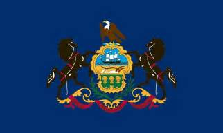 of pennsylvania colors pennsylvania state flag coloring pages usa for