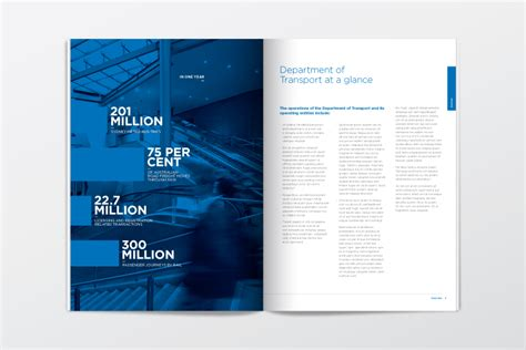 annual report design templates free business template