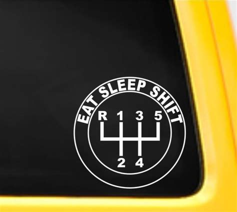 Shift Sticker by Eat Sleep Shift Vinyl Decal Stickers