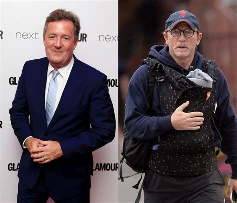 piers morgan daniel craig piers morgan mocked daniel craig for carrying her baby and