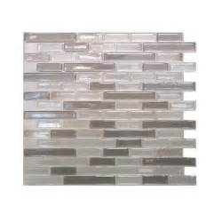 smart tiles muretto 10 25 in w x 9 125 in h beige mosaic