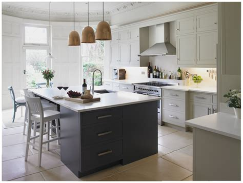 grey and white kitchen cabinets gray perimeter cabinets simply beautiful kitchens the blog slate gray and off
