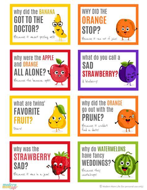 printable jokes free printable back to school lunch box jokes modern mom