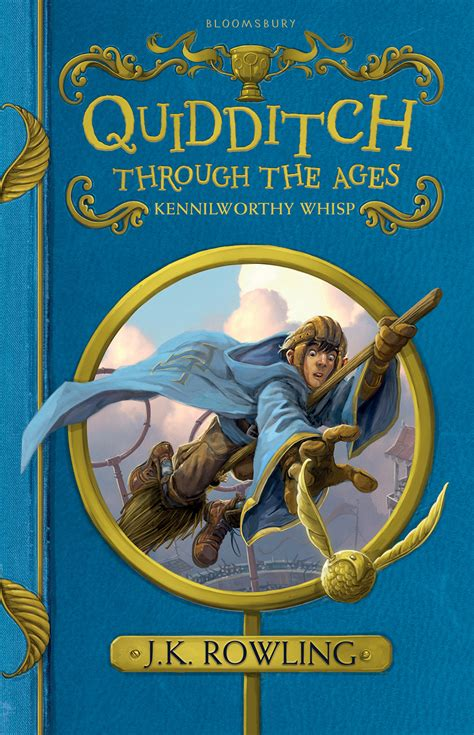 Find Ages Bloomsbury Reveals New Covers For Quidditch Through The Ages Beedle The Bard