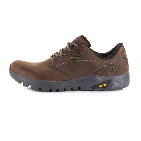 mens hi tec walking boots mens hi tec v lite walk lite witton wp choc leather