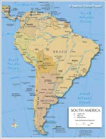 map south america south america map river images