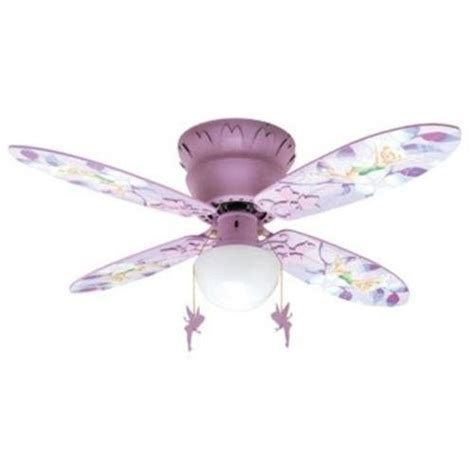 ceiling fans for girls disney fairies tinkerbell 42 quot quot hugger ceiling fan disney