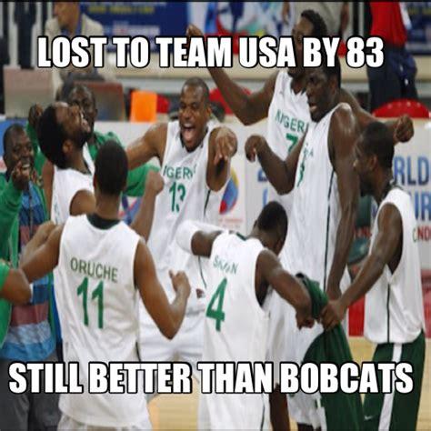 Naija Memes - nigeria loses by 83 still not as bad as charlotte
