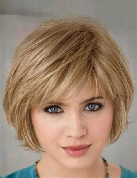 hairstyles for fine hair on round face 50 best short hairstyles for fine hair women s fave