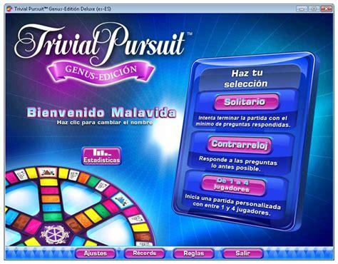 preguntas trivial pursuit descargar trivial pursuit genus edition deluxe 1 01 para
