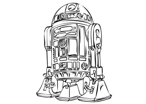 r2d2 robot coloring pages coloring pages