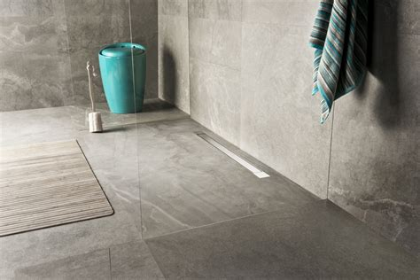 linear bathroom drain advantages of a walk in shower easy drain
