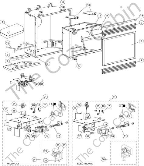 lennox fireplaces parts dr 600cmn 65l17 dr 600cmp 65l18 dr 600cen 65l19