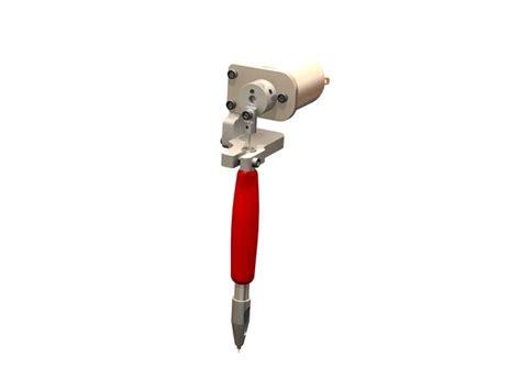 tattoo gun tutorial simple rotary tattoo gun stl solidworks 3d cad model