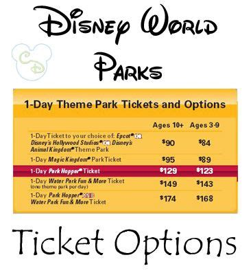 how much is a 1 day ticket to bronner brothers hair show handy list of 1 day ticket prices to walt disney world
