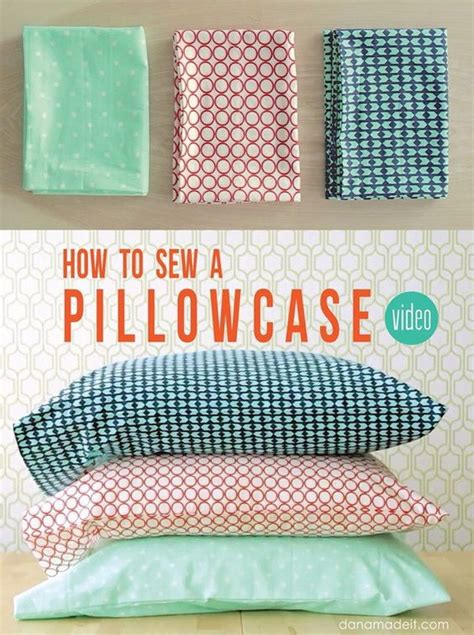 How To Make Easy Pillow Cases by 45 Easy Sewing Projects For Beginners For