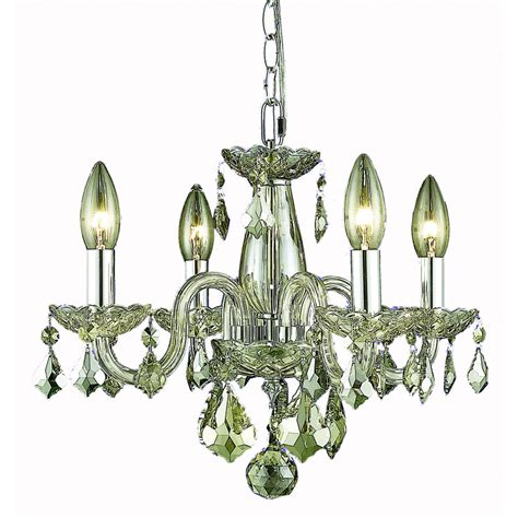 Shadow Chandelier Shop Lighting Rococo 15 In 4 Light Golden Shadow Candle Chandelier At