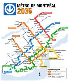 montreal canada metro map montreal metro a vision of a possible future by