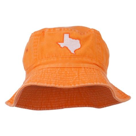Orange Leaf Gift Card Value - bucket leaf camo texas map embroidered bucket hat e4hats